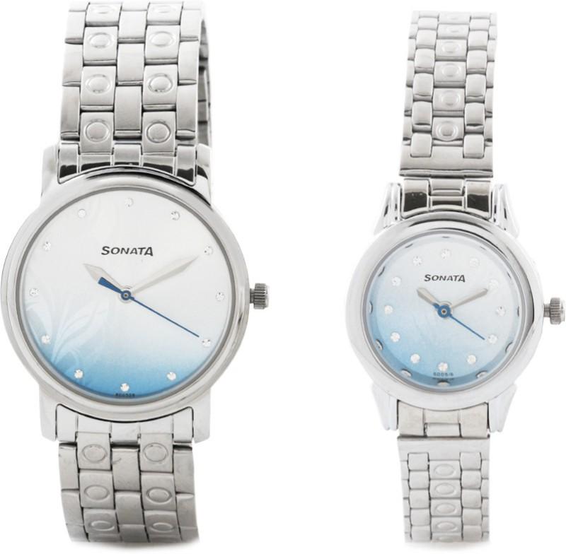 Sonata NH10138925SM01C Couple Watch image