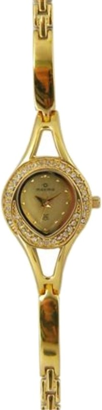 Maxima 24385BMLY Gold Women's Watch