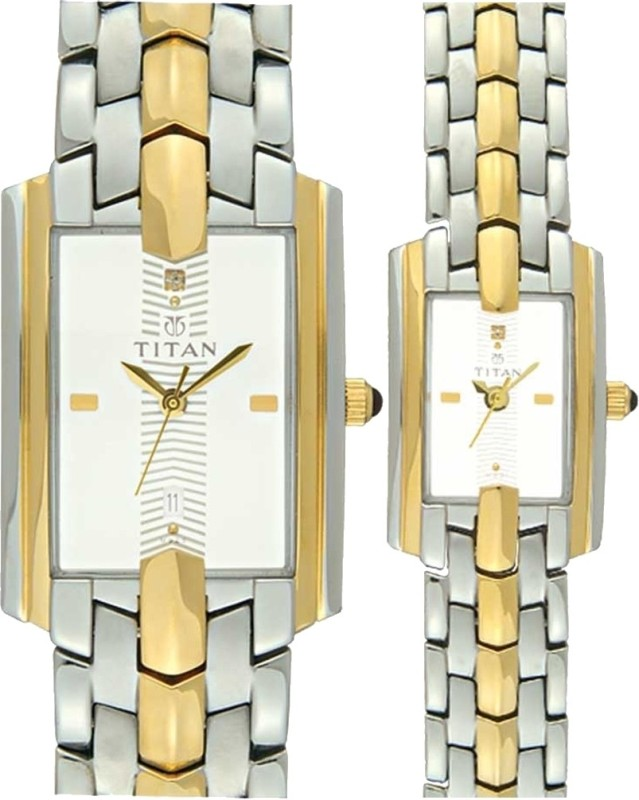 Titan NH19262926BM01 Bandhan Analog Watch - For Couple