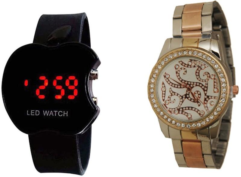 Declasse SOOMS LED - 6590 SOOMS LED Analog-Digital Watch - For Men & Women