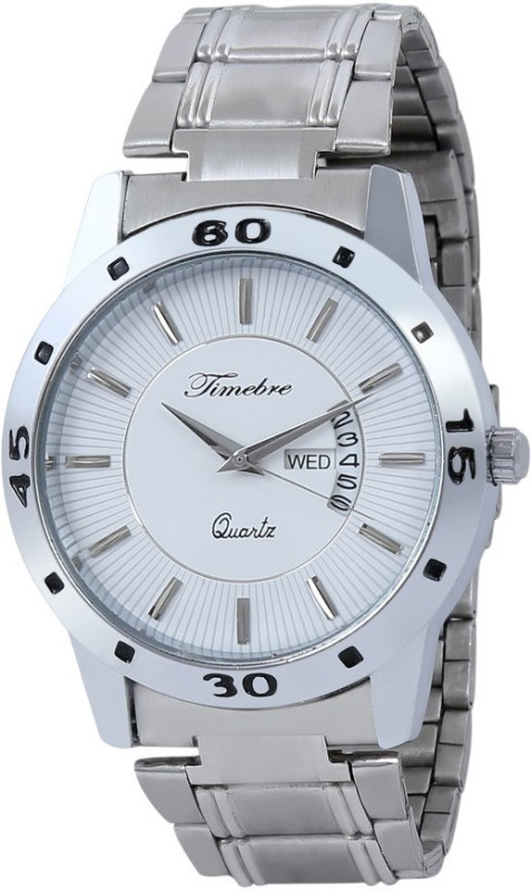 Timebre MXWHT278-5 SWISS Day & Date Men's Watch image.
