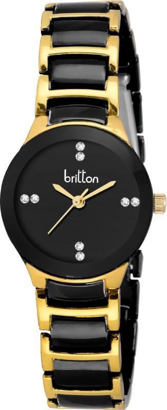 1. Britton BR-LR3002-BLK Watch - For Women