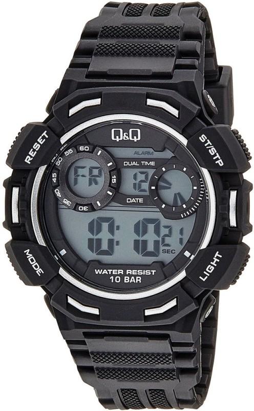 Q&Q M148-004Y 1/100S CHRONO Men's Watch image