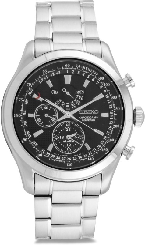 Seiko SPC125P1 Chronograph Perpetual Analog Watch - For Men