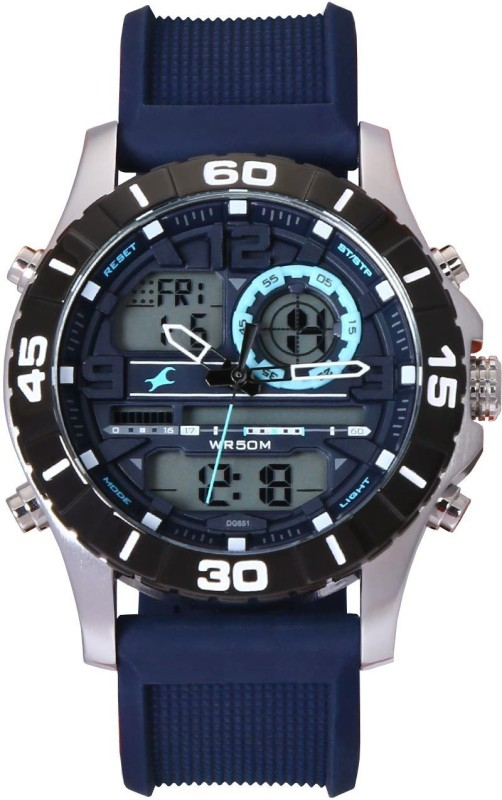 Fastrack 38035SP02J Analog-Digital Watch - For Men