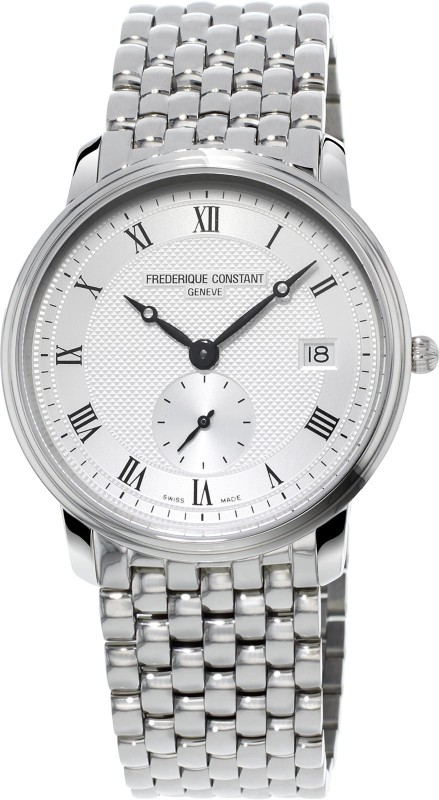 Frederique Constant FC-245M4S6B Slimline Analog Watch - For Men
