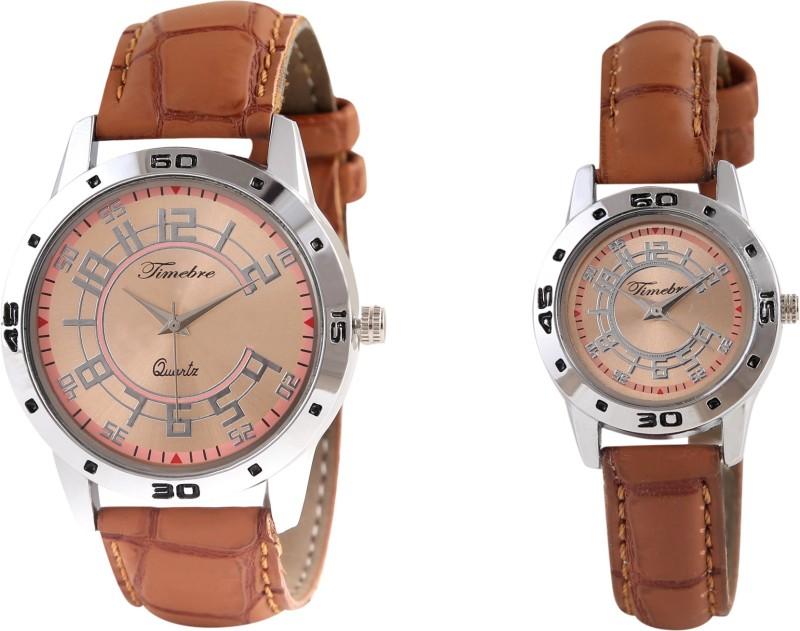 Timebre TCPLCOM77 Khaaki Couple Watch image