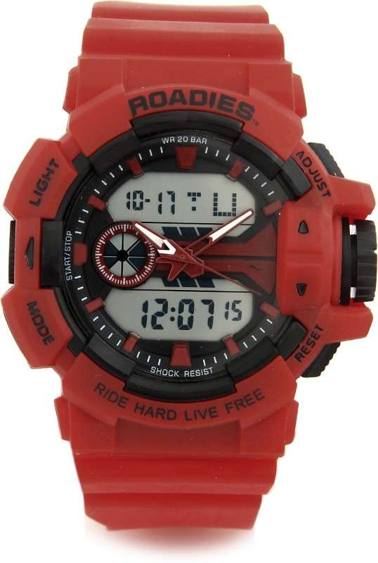 ROADIES R18063RE Analog-Digital Watch - For Men
