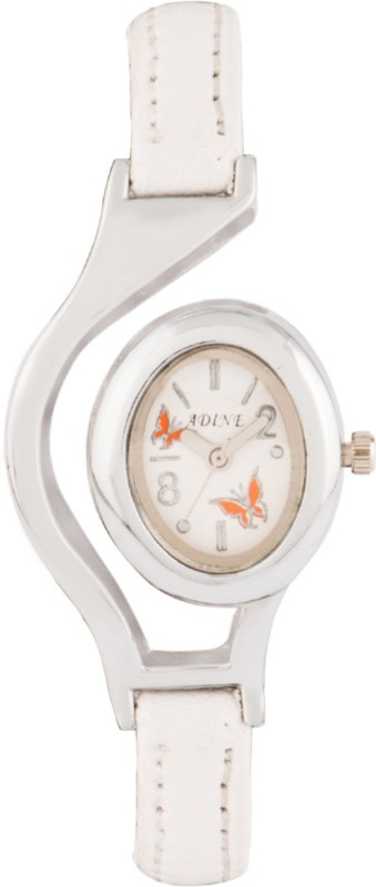 Adine AD-1302 WHITE-WHITE Fasionable Women's Watch image