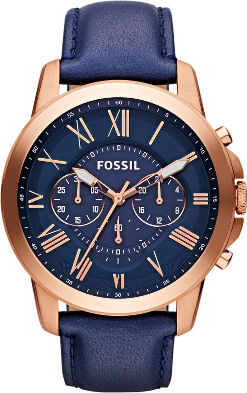 Fossil FS4835 Analog Watch - For Men