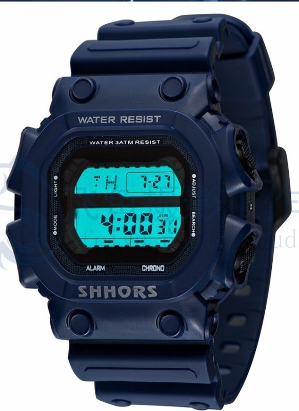Shhors 722 Digital Watch - For Men