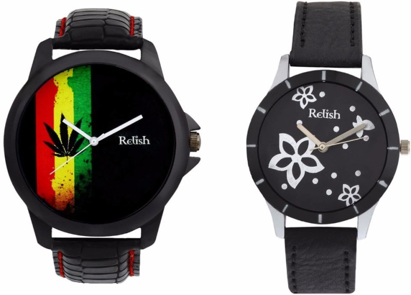 Relish R-1007C Couple Watch image