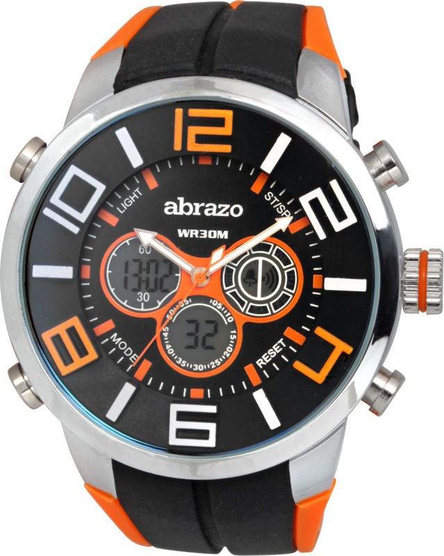 Abrazo SPRT-3-DIGITAL-OR Smart Analog Watch - For Men