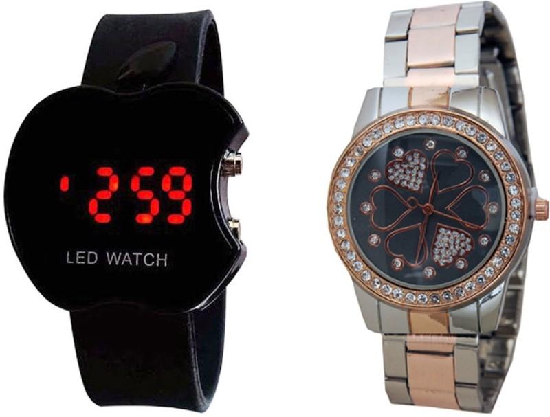 Declasse SOOMS LED - 4659 SOOMS LED Analog-Digital Watch - For Men & Women