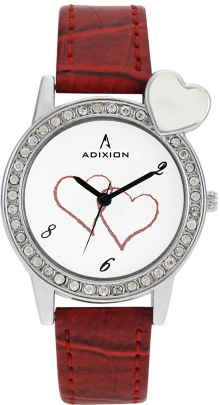 ADIXION 9408SLB8 New Series Genuine Leather women Watch Analog Watch - For Women