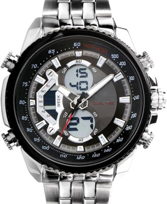 Declasse SKMEI 0993 BLK DUALTIME Analog-Digital Watch - For Men