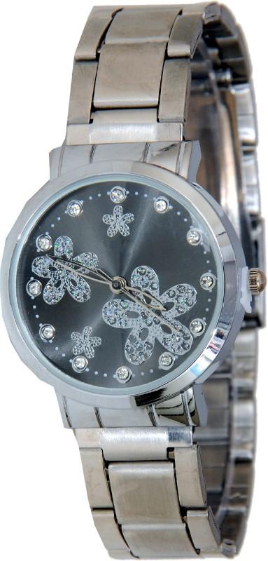 Declasse FOUR FLOWER BLK Analog Watch - For Women