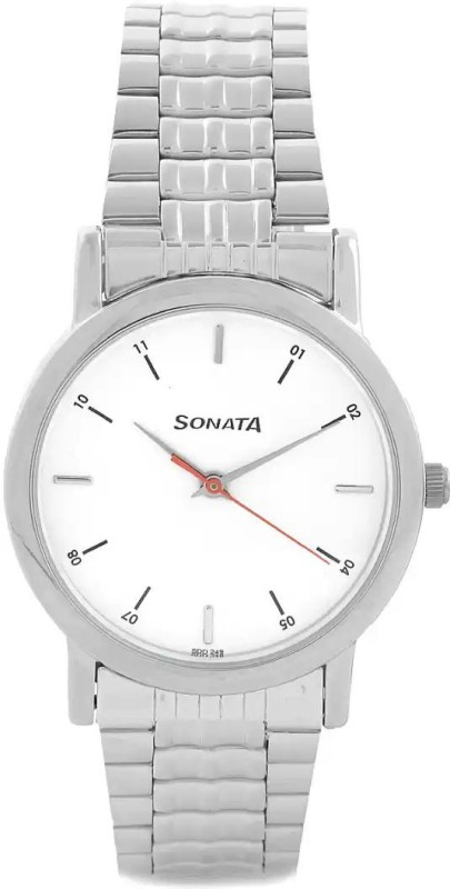 Sonata NH7987SM03CJ Analog Watch - For Men