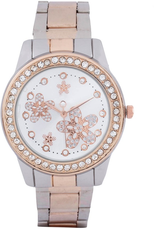 Declasse BEAUTIFUL 4 FLOWERS ON DIAL Analog Watch - For Women