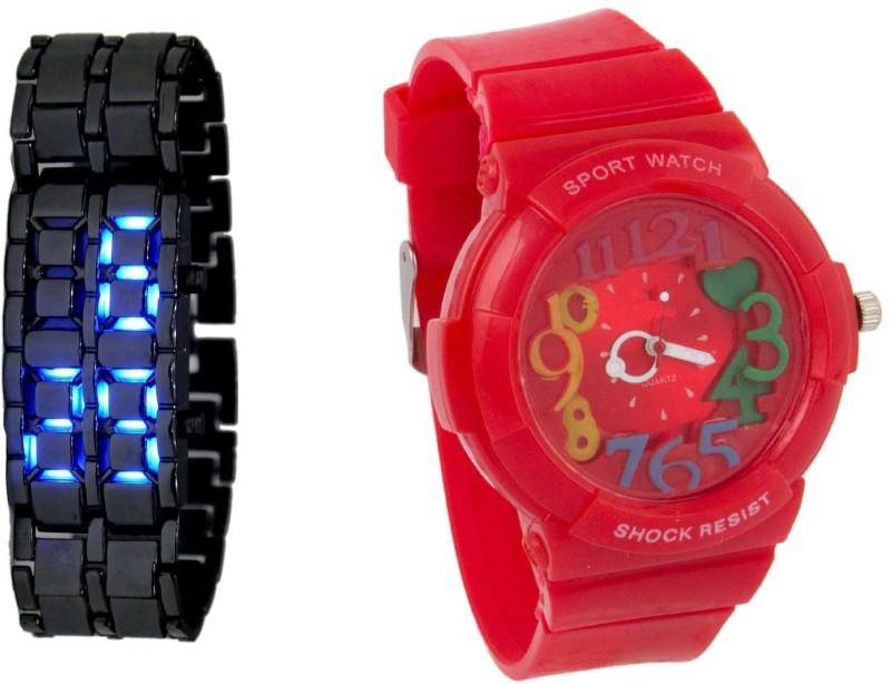 Declasse COSMIC LED - 2567 COSMIC LED Analog-Digital Watch - For Men & Women