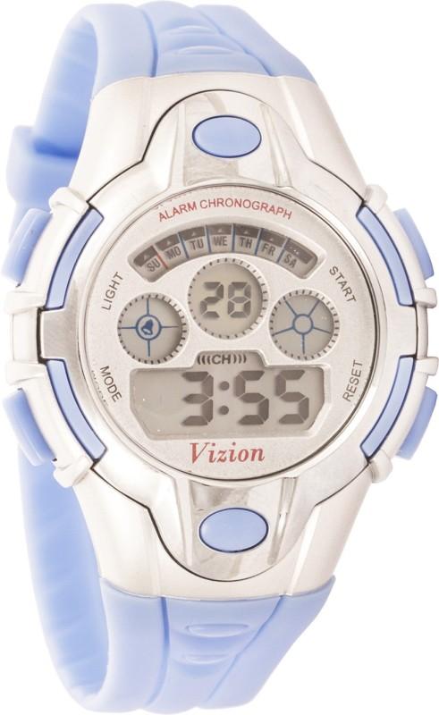 Vizion 8502B-5BLUE Sports Series Digital Watch - For Boys & Girls
