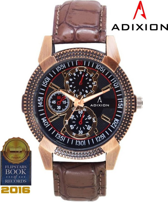 ADIXION AD9503KL01 New Stainless Steel watch with Chronograph Pattern Analog Watch - For Men