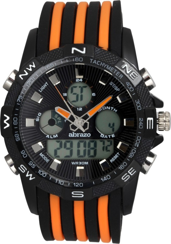 Abrazo SPRT-4-DIGITAL-OR Analog-Digital Watch - For Men