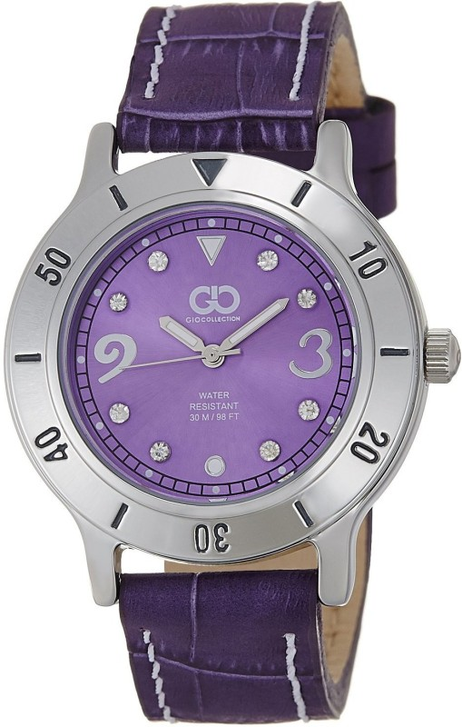 Gio Collection AD-0057-B Purple Women's Watch image