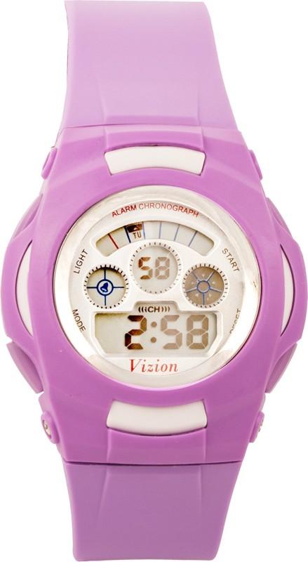 Vizion V-8522B-8 DIgitalView Digital Watch - For Boys & Girls