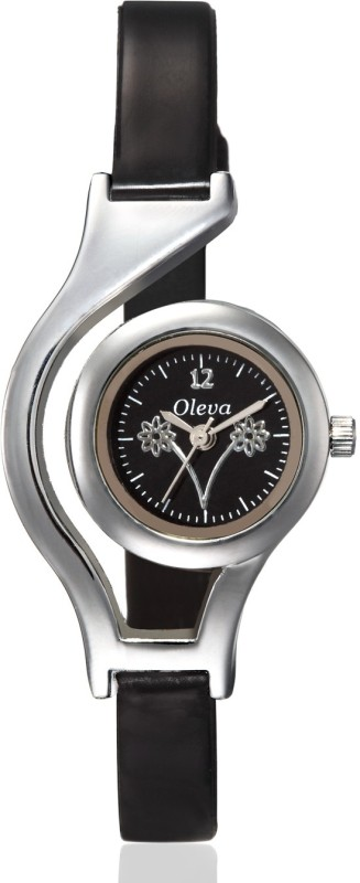 Oleva OLW-10Black-1 Watch  - For Girls