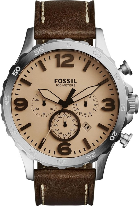 Fossil JR1512 Nate Analog Watch - For Men