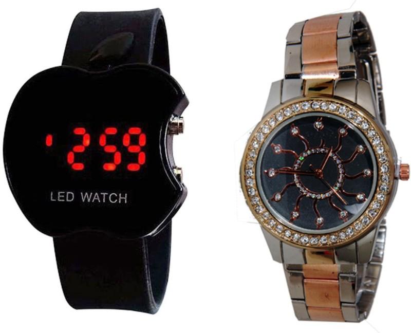Declasse SOOMS LED - 4839 SOOMS LED Analog-Digital Watch - For Men & Women