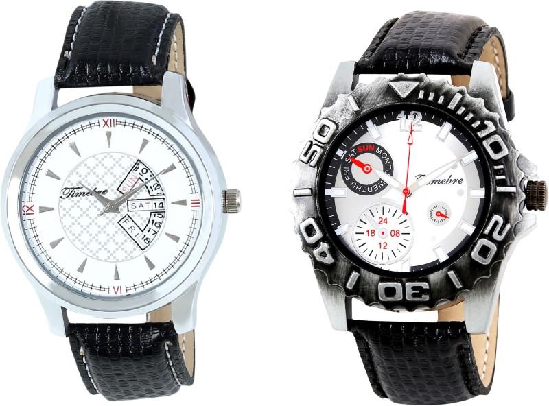 Timebre GXCOM136 Ivory Day & Date Men's Watch image
