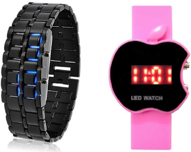 Declasse APPLE LED - 4567 APPLE LED Analog-Digital Watch - For Men & Women