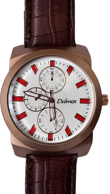 Delmex DX37 Analog Watch - For Men