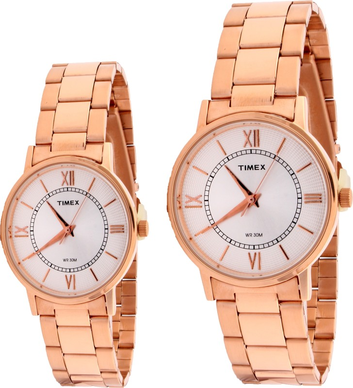 Timex TW00PR215 Analog Watch - For Couple
