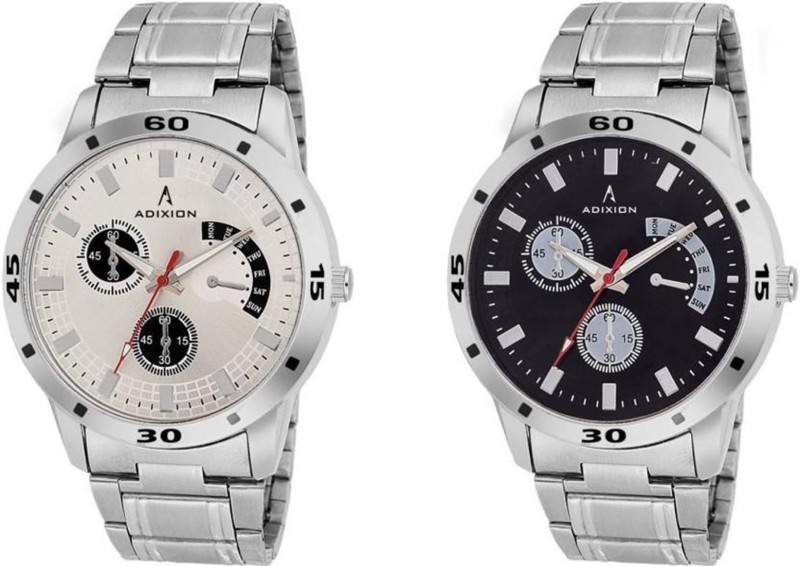 adixion-9519sm0103-new-chronograph-pattern-stainless-steel-bracelet-watch-watch-for-men