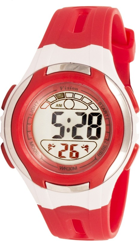 Vizion 8545071-6RED Sports Series Digital Watch - For Boys