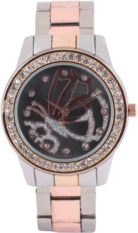 Declasse BEAUTIFUL BLACK BUTTERFLY WATCH Analog Watch - For Women