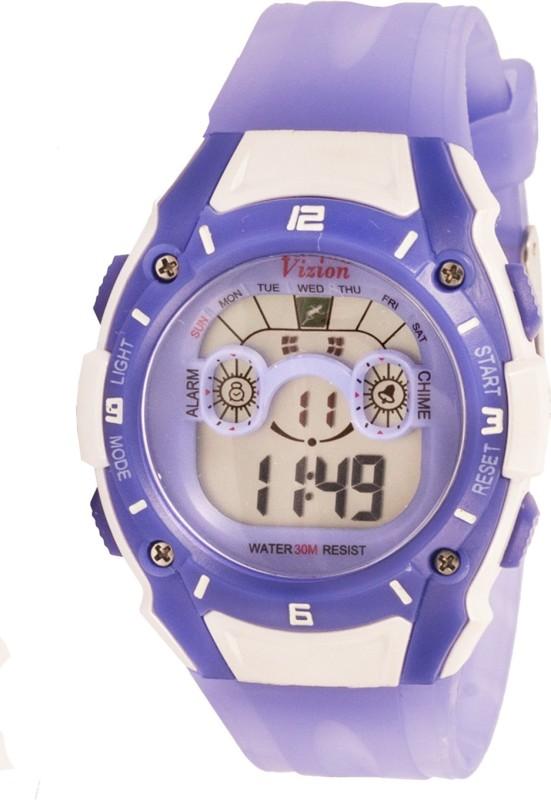 Vizion 8535059-4DBLUE Sports Series Digital Watch - For Boys