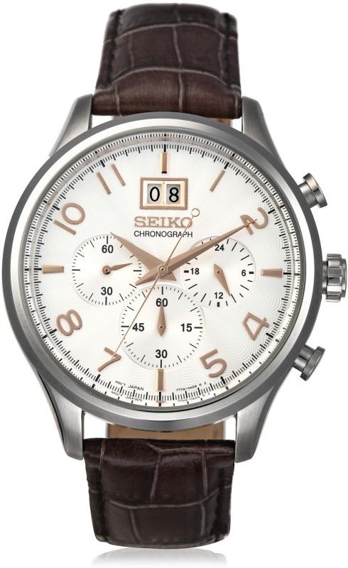 Seiko SPC087P1 Chronograph Watch - For Men