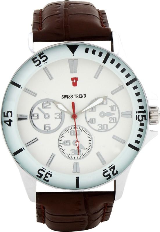Swiss Trend Artshai1629 Elegant Men's Watch image.