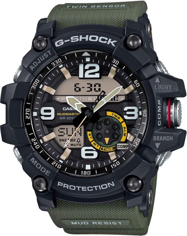 Casio G662 G-SHOCK Mud Master Analog-Digital Watch - For Men