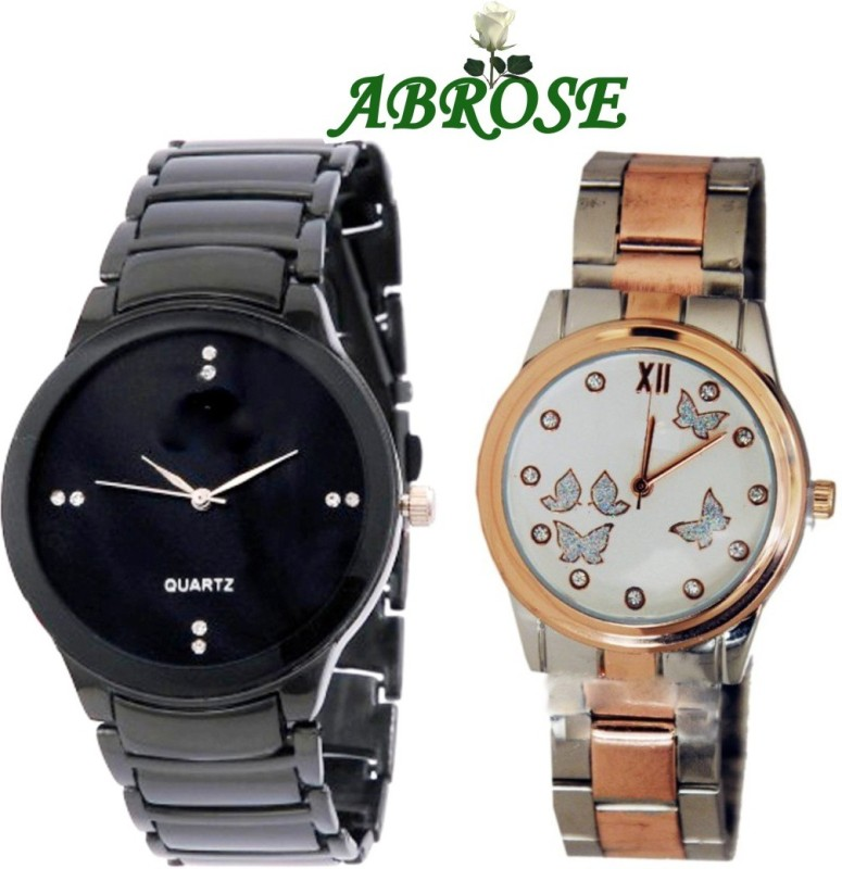 Abrose iikcombo524 Analog Watch - For Couple