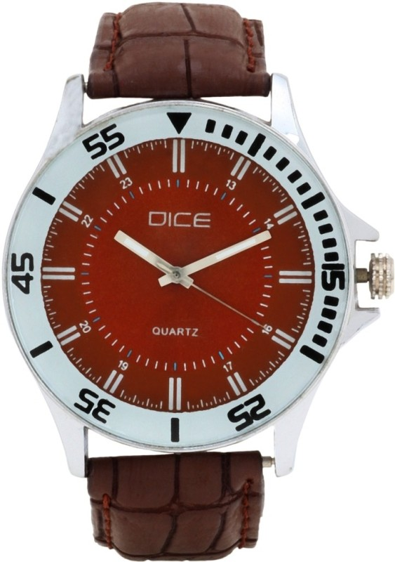 Dice DCMLRD35LTBRNBRN311 Doubler Men's Watch image