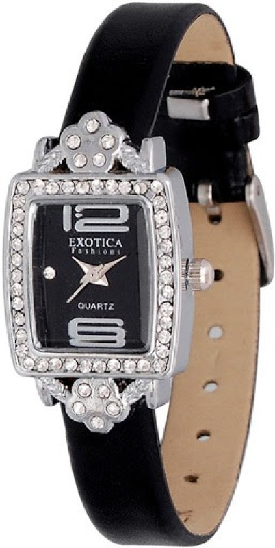 Exotica Fashions EFL-51-Black Ex Series Women's Watch image