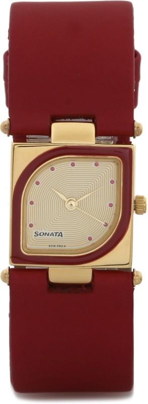 Sonata ND8919YL04AC Octane Watch - For Women