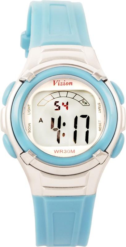 Vizion 8523-8blue Sports Series Digital Watch - For Boys & Girls