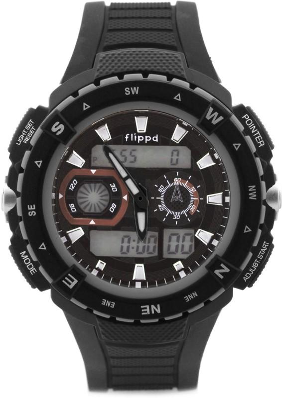 Flippd FDRBB23215 Analog-Digital Watch - For Men