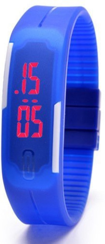 Aviva AV-LED-BLU Digital Watch - For Boys & Girls